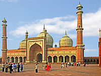 Jama Masjid, Delhi, one of the largest mosques in India