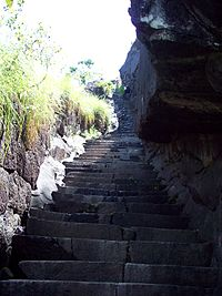 The Jamalabad fort route. Mangalorean Catholics had travelled through this route on their way to Srirangapatna.