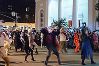 The annual Greenwich Village Halloween Parade is the world's largest Halloween parade.