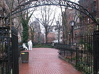 Christopher Park, part of the Stonewall National Monument