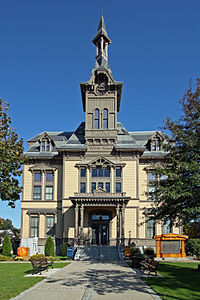 Saugus Town Hall front view