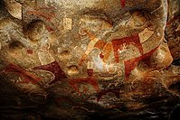 Ancient cave paintings near Hargeisa