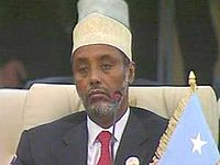 Abdiqasim Salad Hassan, one of the founders of the Transitional National Government