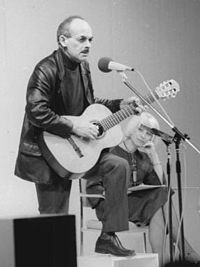 Soviet and Russian bard Bulat Okudzhava