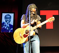 Tracy Chapman began singing about social issues in American society in the 1980s