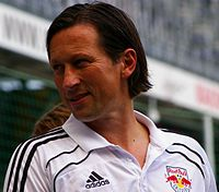 German Roger Schmidt was the team's coach from 2012 until 2014.