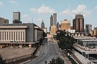Tulsa is the state's second-largest city by population and by land area.