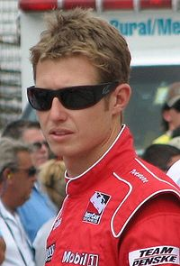 Briscoe at the Indianapolis Motor Speedway in May 2009.