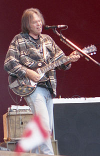 Young performing in 1996 in Turku, Finland