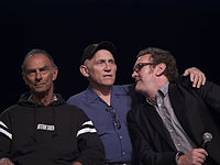 Marc Alaimo, Armin Shimerman and Colm Meaney, who portrayed the characters of Gul Dukat, Quark and Miles O'Brien, respectively.