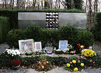 Monument at the Mirogoj Cemetery in Zagreb dedicated to the children from Kozara who died in Ustaše concentration camps