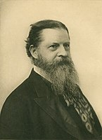Philosopher, logician, and mathematician Charles Sanders Peirce (AB, 1862, SB 1863)