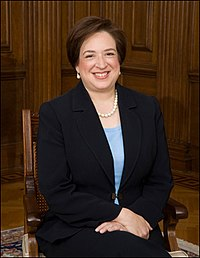 Associate Justice of the Supreme Court of the United States Elena Kagan (JD, 1986)