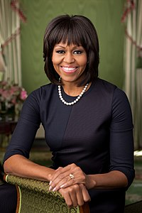 Former First Lady of the United States Michelle Obama (JD, 1988)