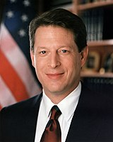 45th Vice President of the United States and Nobel Peace Prize laureate Al Gore (AB, 1969)
