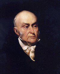 6th President of the United States John Quincy Adams (AB, 1787; AM, 1790)<ref>{{cite web |title=John Quincy Adams |url=https://www.whitehouse.gov/about-the-white-house/presidents/john-quincy-adams/ |publisher=The White House |access-date=21 September 2020}}</ref><ref>{{cite web |last1=Hogan |first1=Margaret A. |title=John Quincy Adams: Life Before the Presidency |url=https://millercenter.org/president/jqadams/life-before-the-presidency |publisher=Miller Center |access-date=21 September 2020}}</ref>