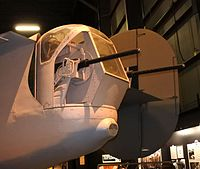 B-24D tail guns at the National Museum of the United States Air Force.