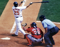 Rafael Palmeiro (batter), one of the MLB players suspended for steroid use