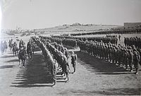 Ottoman troops during the Mesopotamian campaign