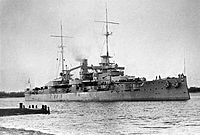 , a, Germany's first response to the British Dreadnought