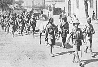 The British Indian infantry divisions were withdrawn from France in December 1915, and sent to Mesopotamia.