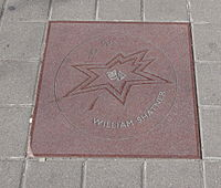 Shatner's star on Canada's Walk of Fame