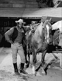 Patterson tried his hand at acting. He is seen in this 1968 The Wild Wild West episode as a landowner who is in danger of losing his property.
