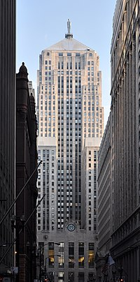 The Chicago Board of Trade Building a National Historic Landmark