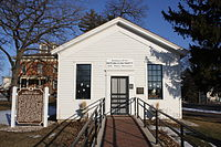 The first local meeting of the new Republican Party took place here in Ripon, Wisconsin on March 20, 1854.