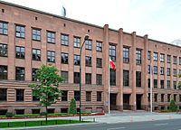 The Ministry of Foreign Affairs, located in Warsaw