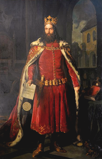 Casimir III the Great is the only Polish king to receive the title of Great. He built extensively during his reign, and reformed the Polish army along with the country's legal code, 1333–70.