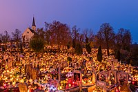 All Saints' Day on 1 November is one of the most important public holidays in Poland.