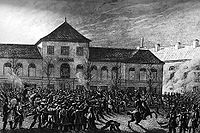 Capture of the Warsaw Arsenal by the Polish Army during the November Uprising against Tsarist autocracy, 29 November 1830