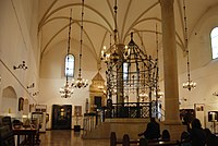 The Old Synagogue of Kraków is the oldest standing synagogue in Poland. Hasidic Judaism originated in the Polish–Lithuanian Commonwealth during the 18th century.