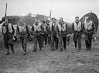 303 Polish Fighter Squadron during the Battle of Britain, October 1940