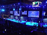 Intel Extreme Masters, an eSports video game tournament in Katowice