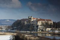 The Vistula is the longest river in Poland, flowing the entire length of the country for 1,047 kilometres (651 mi).