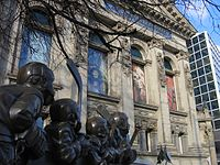The Hockey Hall of Fame is a museum dedicated to ice hockey, as well as a Hall of Fame.