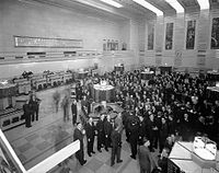 By 1934, the Toronto Stock Exchange emerged as the country's largest stock exchange.