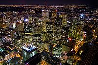 The Financial District from the CN Tower