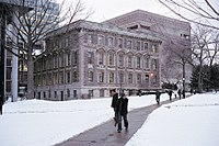 Winters in Toronto are typically cold with frequent snowfall.