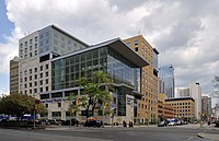 Toronto General Hospital is a major teaching hospital in downtown Toronto.