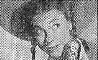 Photo from 1944 advertisement for the Judy Canova Show