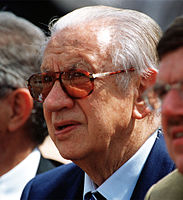 Juan Antonio Samaranch, former IOC president, who was in charge of the Olympic movement for more than 20 years