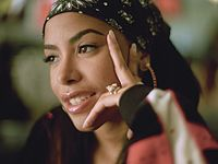 Elliott began collaborating with other artists in the late 1990s, including Aaliyah (pictured in 2000).
