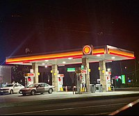 Shell Station by Gas Land Petroleum
