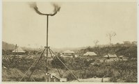 The oil well at Pangkalan Brandan, North Sumatra, is considered to be the origin of the Royal Dutch Shell.