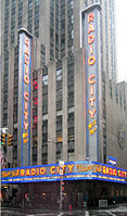 Radio City Music Hall, site of 12 VMAs, including the first