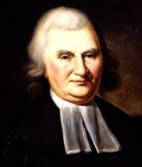 John Witherspoon, President of the College (1768-94), signer of the Declaration of Independence