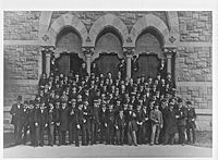 The Princeton University Class of 1879, which included Woodrow Wilson, Mahlon Pitney, Daniel Barringer, and Charles Talcott
